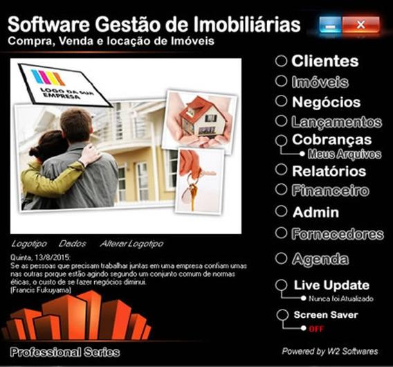 Software Para Imobiliária Controle De Imoveis