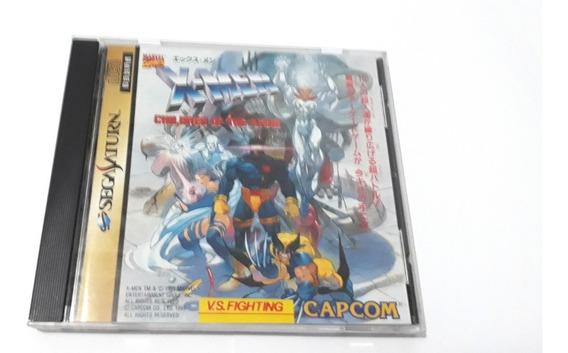 X-men Children Of The Atom - Sega Saturn