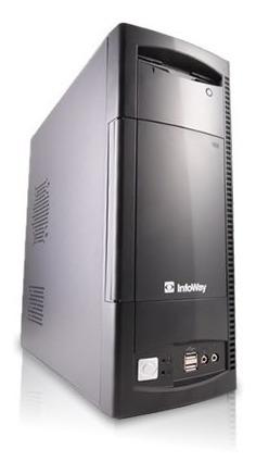 Cpu Pc Itautec Intel Dual Core 2gb Hd 80gb Dvd Wifi