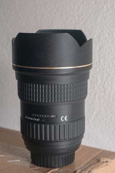 Tokina 16-28mm 2.8 Nikon - R$ 2500 À Vista