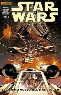 Star Wars 04: El Ultimo Vuelo De Harbinger - Aaron, Mayhew