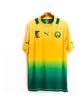Camisa De Futebol Masculino Camarões 2011/13 Puma 740199-04