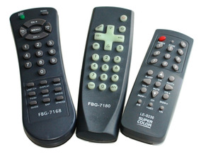 Kit 100 Controle Remoto Tv Antiga Turbo Atacado Loja Revenda