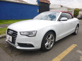 Audi A5 Cabrio 1.8t Multitrictonic Red Hood