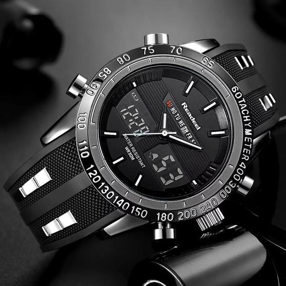 Relógio Readeel Dual Time Masculino Importado