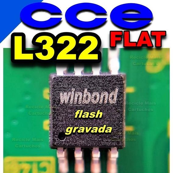 Memoria Flash Tv Cce L322 Versão Cabo Flat Chip Gravado