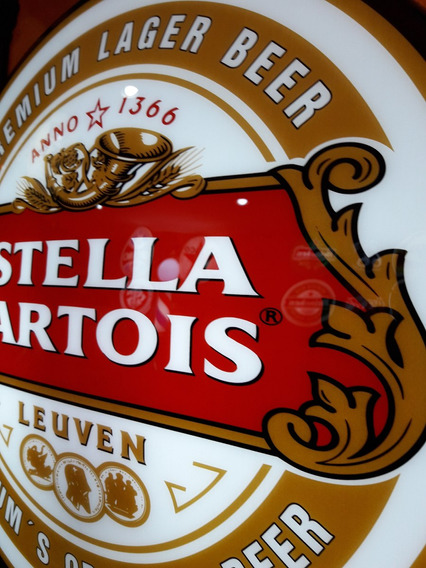Luminoso Da Cerveja Stella N Neon Bar Buteco Churrasqueira