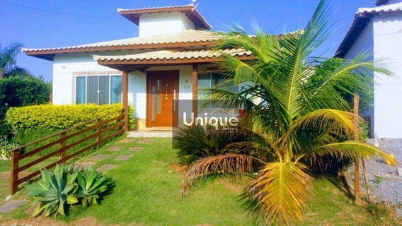 Casa Com 3 Dormitórios À Venda, 100 M² Por R$ 450.000,00 - Rasa - Armação Dos Búzios/rj - Ca1027