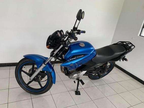 Yamaha Ybr Factor 125 Ed Azul 2014