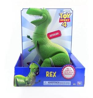 Muñeco Dinosaurio Rex Articulado Disney Toy Story Piu Online