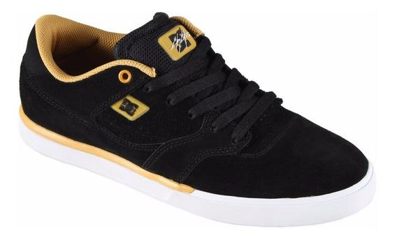Tênis Dc Shoes Cole Lite S Preto/amarelo