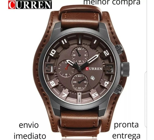 Curren Original Promoção Pronta Entrega-com Garantia