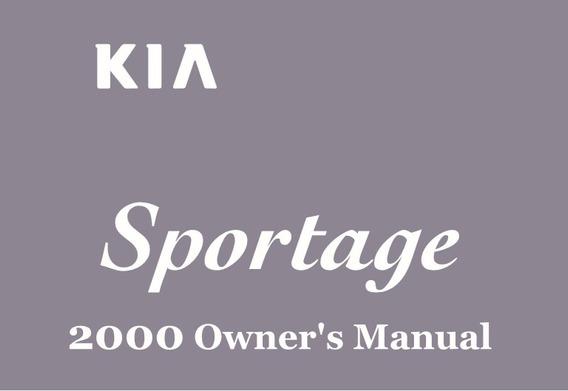 Esquema Elétrico E Mecanico Kia Sportage 2001
