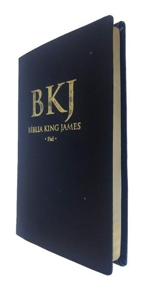 Bíblia King James 1611 Fiel - Ultrafina Covertex - Bv Books