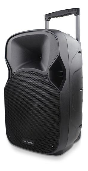 Caixa De Som Amplificadora Trolley Multilaser - Sp200