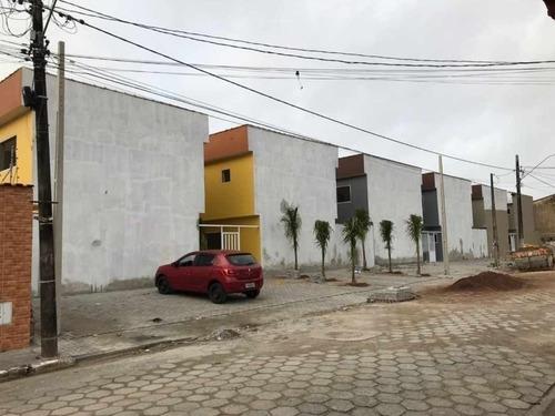 Casa Em Condomínio Fechado Em Itanhaém No Bairro Suarão - 0137