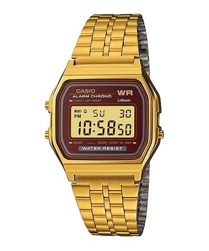 Reloj Casio Retro A-159wga-5d Para Todos Los Estilos