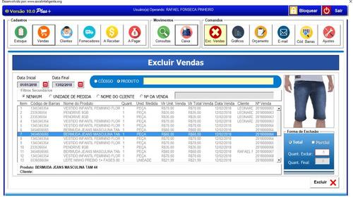 Planilha Controle De Estoque 6.0 Plus+ Código De Barras