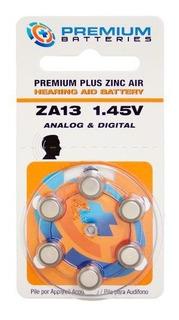 Premium Batteries Zinc Air Hearing Aid Za13
