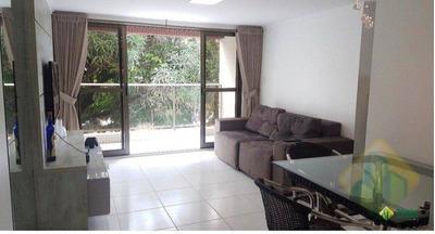 Apartamento Com 2 Dormitórios À Venda, 90 M² Por R$ 380.000 - Cabo Branco - João Pessoa/pb Cod Ap0209 - Ap0209