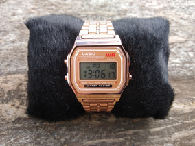 Relógio Pulso Rose Unisex Retrô Vintage