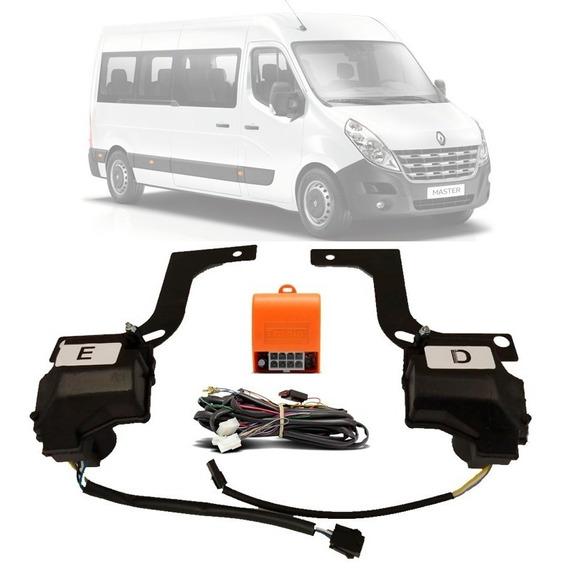 Kit Trava Eletrica Renault Master Trm2d Tragial 2014 Em Diante