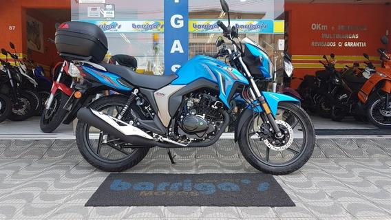 Suzuki Dk 150cc 2019/2020 Azul Garantia De Fábrica