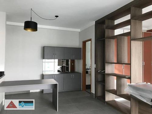 Imagem 1 de 26 de Apartamento Com 1 Dormitório À Venda, 55 M² Por R$ 630.000,00 - Jardim Anália Franco - São Paulo/sp - Ap6155