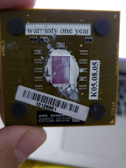 Processador Amd Sempron 462 Sda2600dut3d Z482152j03086