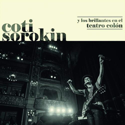 Imagen 1 de 2 de Coti Y Los Brillantes En El Teatro Colón Vinilo Doble Nuevo