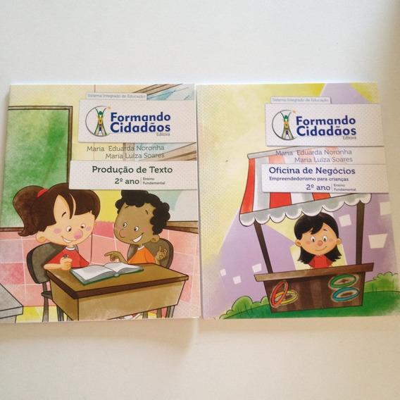 Livros Formando Cidadãos Kit C 2ª Ano Ensino Fundamental C2