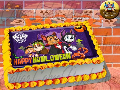 Papel Arroz Comestível P/ Bolo Halloween Cartoon Tooncast M2