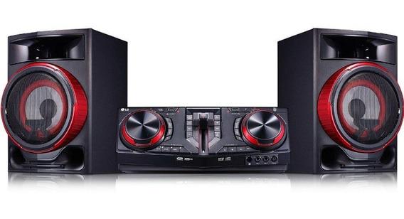 Mini System Lg Cj87 1800w Bluetooth Dual Usb Karaokê