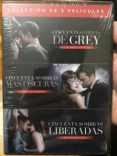 Dvd Cincuenta Sombras Coleccion / Incluye 3 Films
