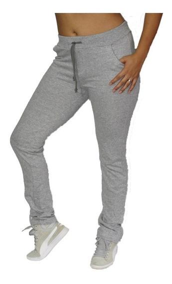 Kit 03 Calças De Moletom Feminino - Skinny Slim Swag Sports