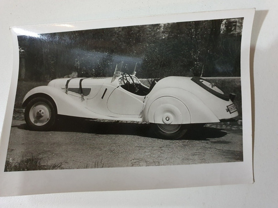 Antigua Postal Foto Original Bmw 328 Sportwagen 1937