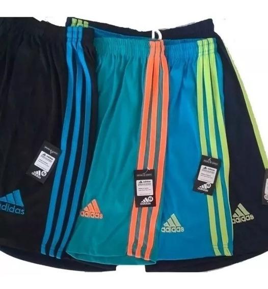 Kit Com 10 Bermuda Shorts Calção Treino Futebol - Promoção