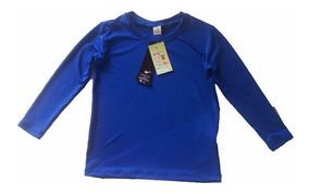 6 Camisa Bebé Com Proteção Uv Solar Upf 50+