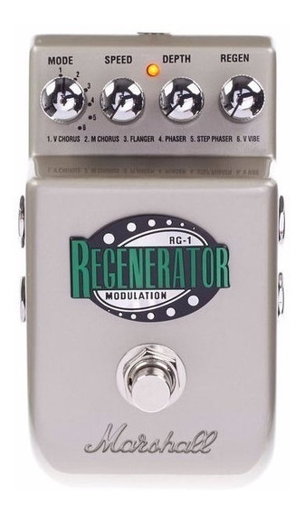 Pedal Regenerator Rg1 Marshall Chorus Flanger Phase