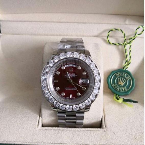 Relógio Rolex Day-date Cravejado
