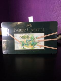 Estojo Profissional 36 Cores Pastel Pencils Pitt Fabercastel