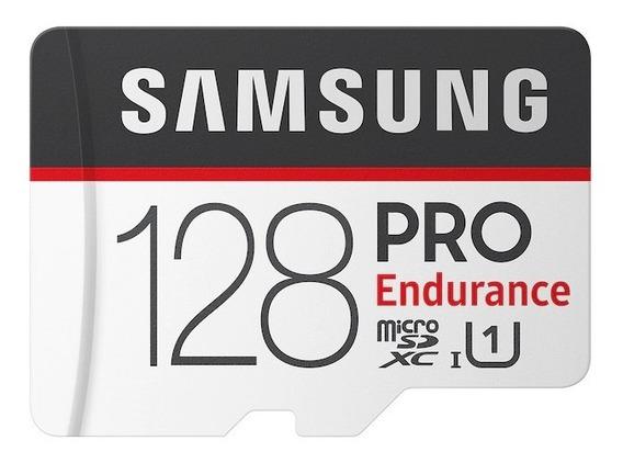 Cartão Micro Sd Samsung Pro Endurance C. Segurança - 128gb