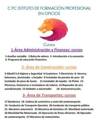 C.p.c Instituto De Formacion Profesional En Oficios