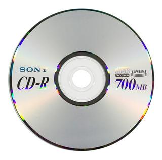 Cd-r 48x 700mb / 80 Min. Sony X 2 Unidades