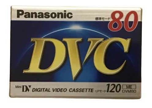Mini Dv Panasonic Digital Video Cassette 80 Minutos