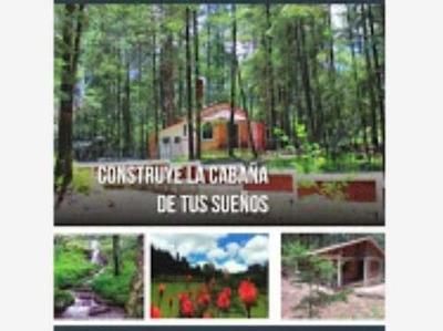 Terreno En Venta Mágico Bosque, Para Cabañas, Financiamiento Sin Intereses