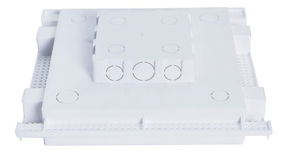 Caixa Embutir Painel Led Na Laje Plasled 24w / 30x30 10 Unid