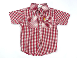 Camisa U. S. Polo Assn. Infantil Vermelha