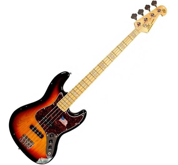 Contra Baixo Sx Vintage Jazz Bass Sjb75 Passivo 4 Cordas