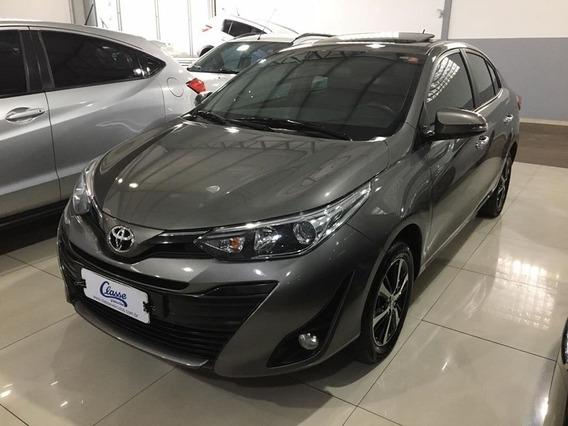 Yaris Sedan Xls 2020 Cinza Automático Completo